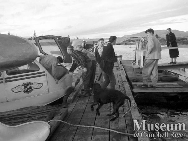B.C. Airlines Plane at the Tyee Spit