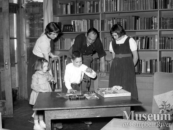 Roderick Haig-Brown and children