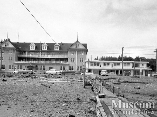 Willows Hotel and Iaci block, Campbell River