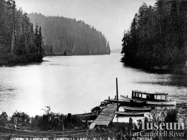View of Lower Campbell Lake at Forbes Landing