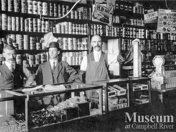 Interior of the Campbell River Trading Co, store, Campbell River