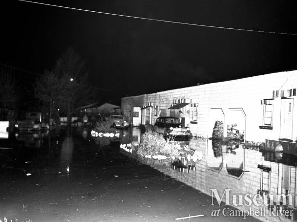 Flood in Campbellton, 1951