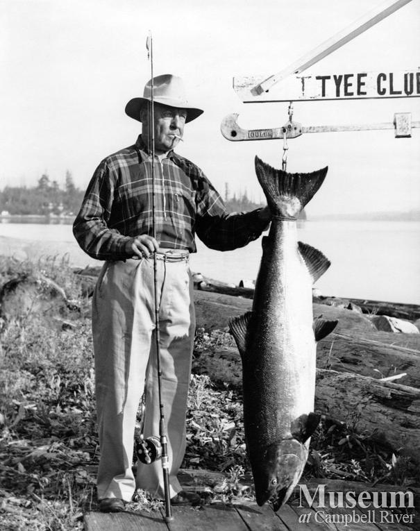 Wallace H. McMillan, Tyee Man and 3/6 Champion