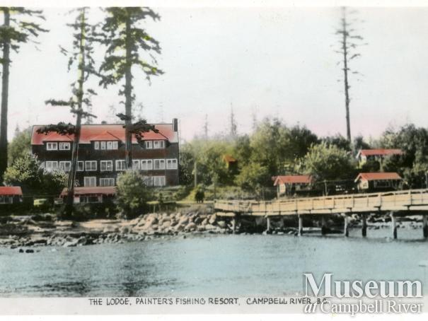 Postcard of Painter's Lodge