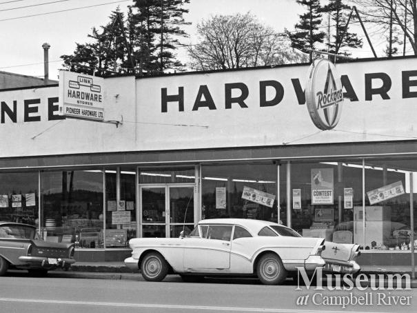 Pioneer Hardware located on Island Hwy., Campbell River