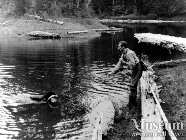 Roderick Haig-Brown fishing