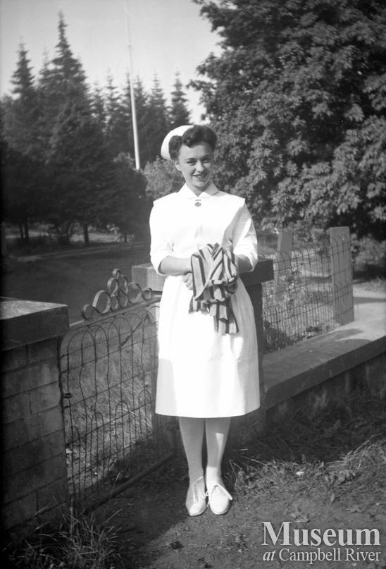 Nat' Janowski, nurse at the Lourdes Hospital