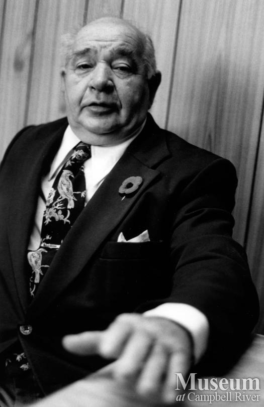 Previous Mayor of Campbell River, Ken Forde