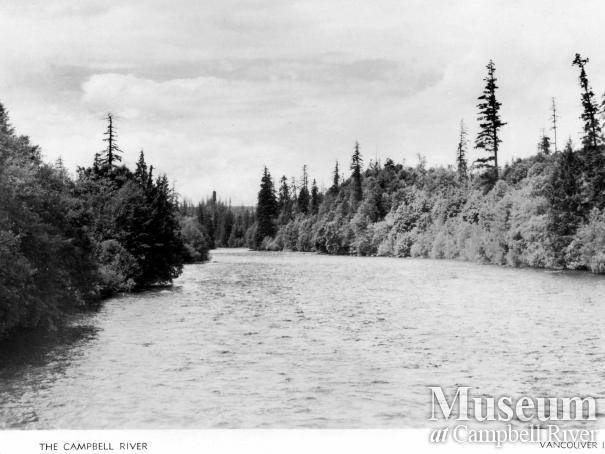 Postcard of the Campbell River