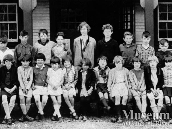 Campbell River Public School class photo, 1930 Div. 2