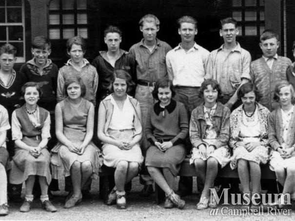 Campbell River School class, 1931, Division 1