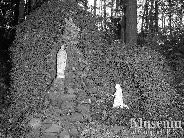 The Grotto at the Lourdes Hospital