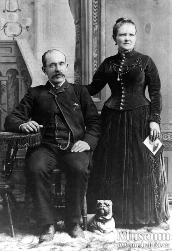 Portrait of Joseph and Martha Stewart, Campbell River