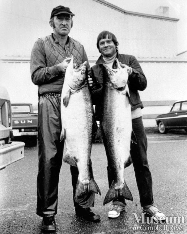Jack Cameron with his catch