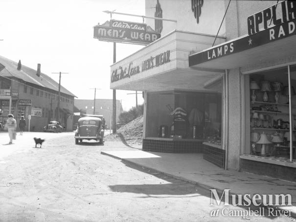 Downtown Campbell River, 1950