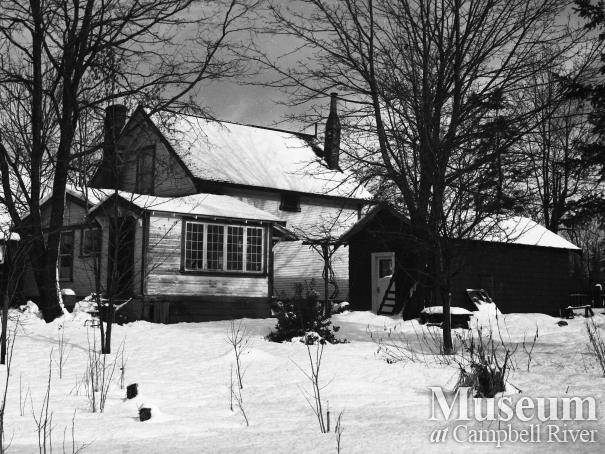 Godfrey and May Baldwin's Home in Campbellton