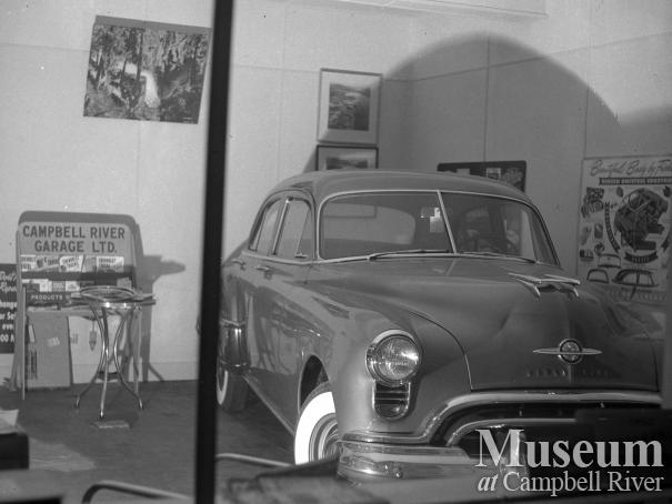 Display window at Campbell River Garage Ltd