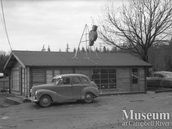 Del's Drive In restaurant, Campbell River