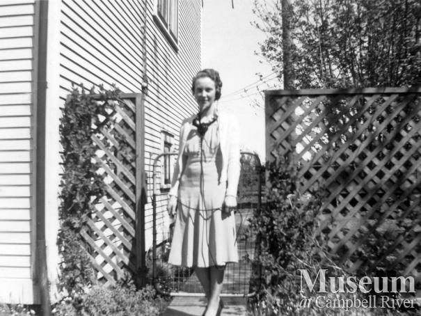 Margaret Granlund Campbell River telephone operator