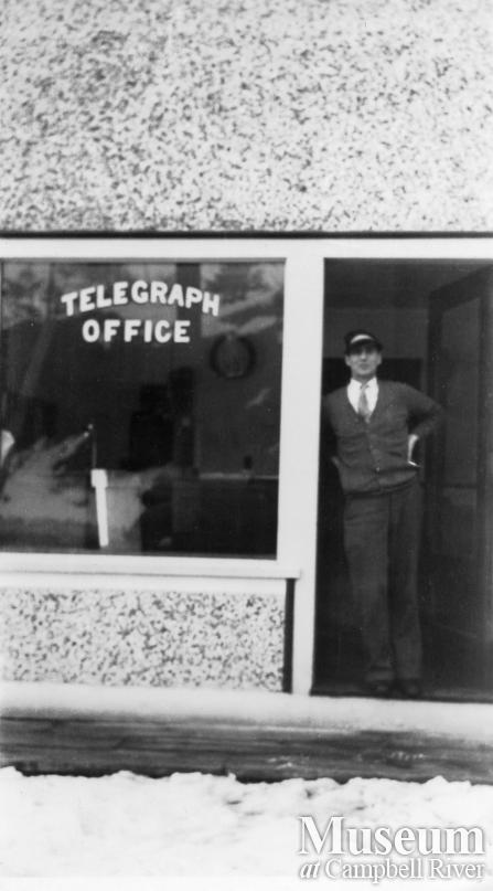 Jake Burgess at Telegraph Office