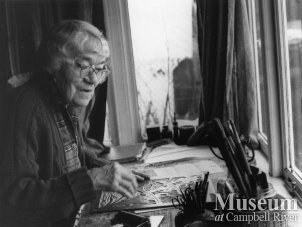 Artist Sybil Andrews