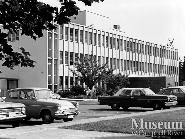 Campbell River  and District General Hospital,Sept. 15, 1965