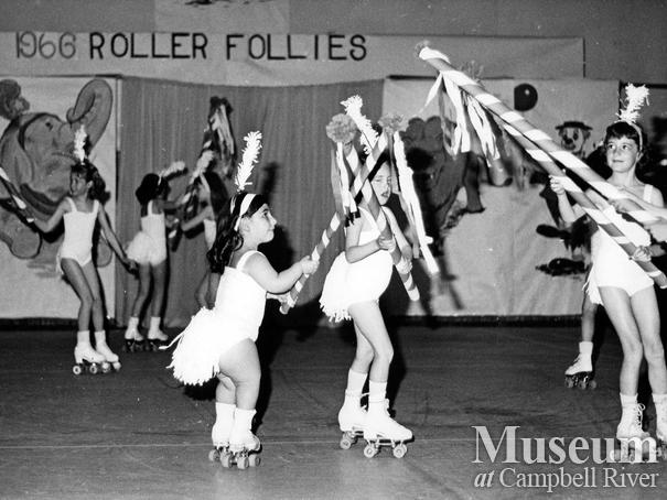 Annual Roller Follies performance, Campbell River