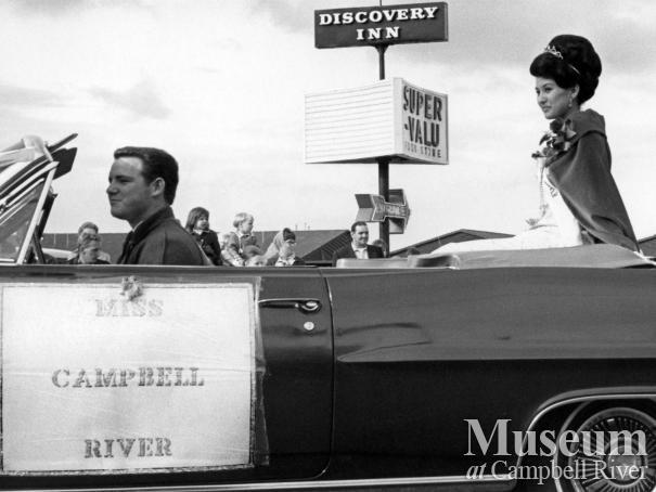 Miss Campbell River, Karen Imamura, in Spring Fair Parade