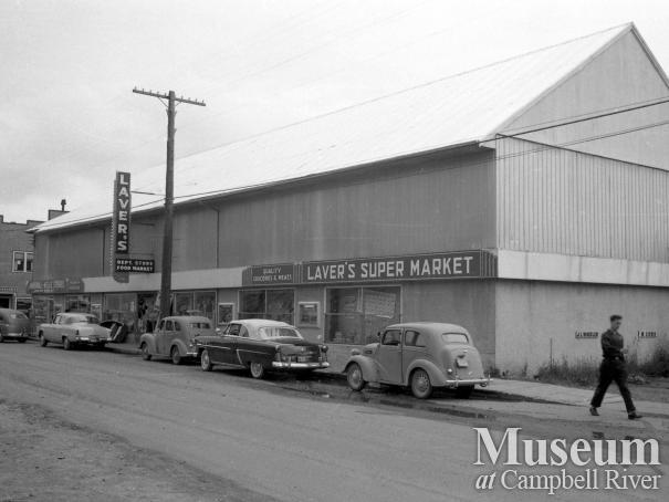 Laver's Store, 1955