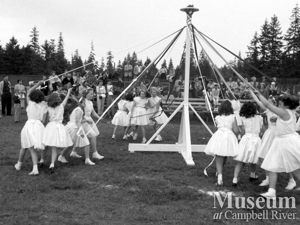May Day celebrations at Lane Field