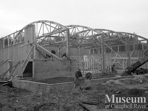 Building the Kinsmen Community Hall