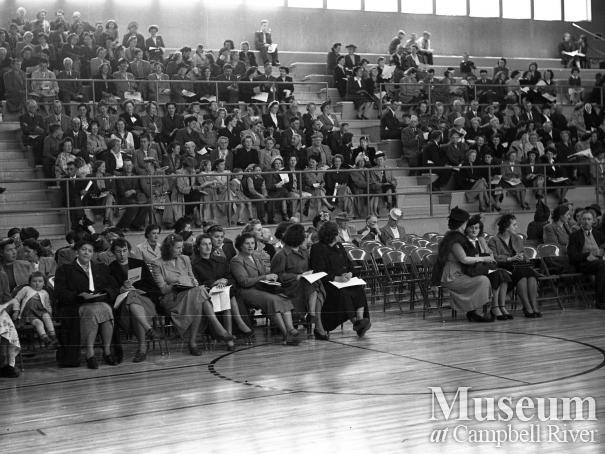 Opening of Campbell River Elementary-High School