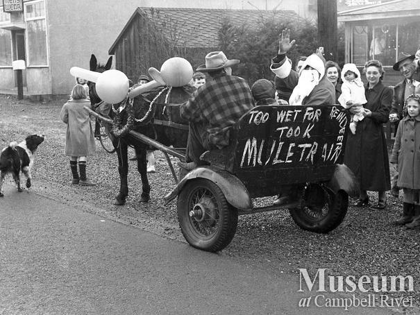 Father Christmas at a Campbellton Christmas Parade
