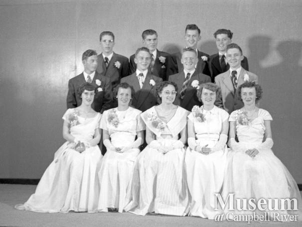 Campbell River graduating class of 1950