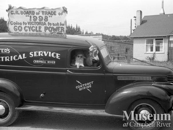 July 1st parade, Campbell River