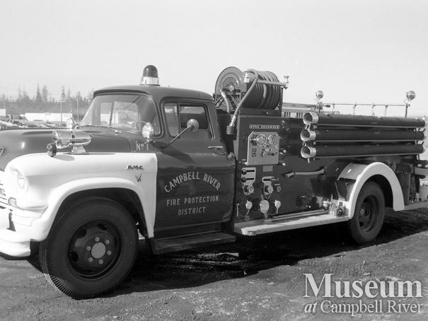 Campbell River Fire Department truck