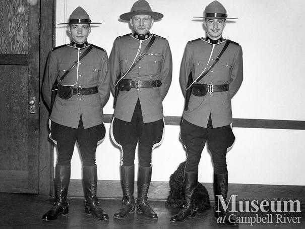 Campbell River police officers