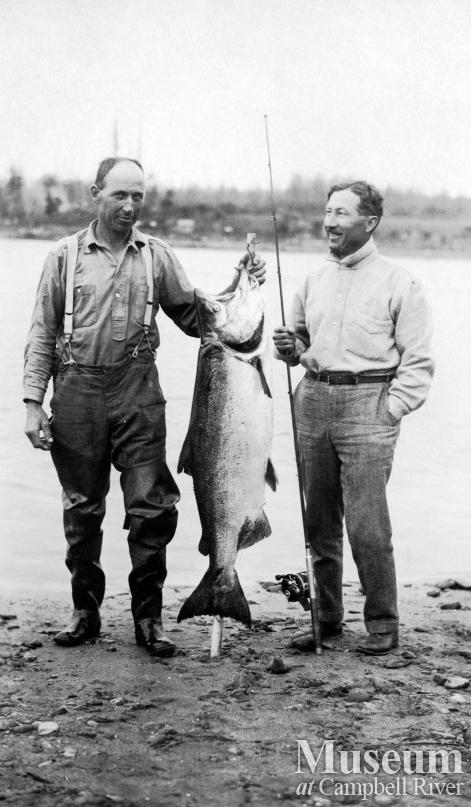 Herbert Pidcock and Dr. Wiborn