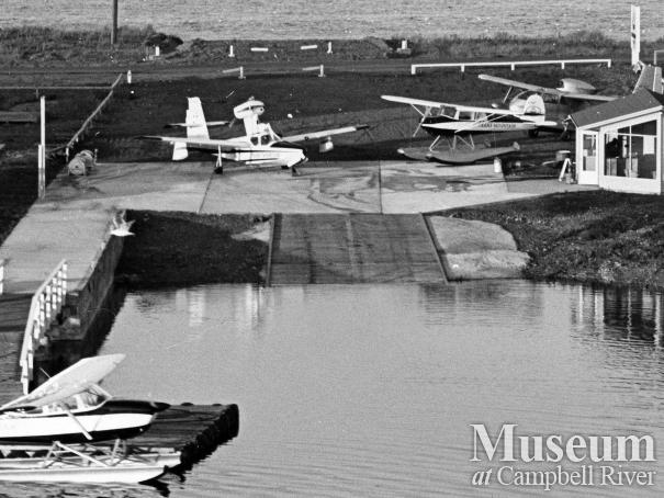 Trans Mountain Airline base at the Tyee Spit