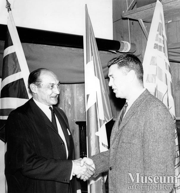 Roderick Haig-Brown and John Glass