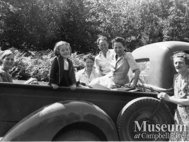 Campbell River Residents, circa 1942