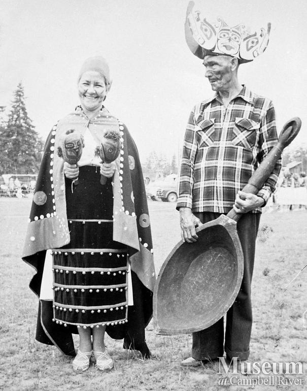 Katie Ferry (nee Henderson) with husband John Ferry