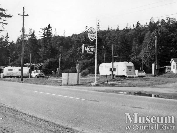 View of Ferndell Trailer Park, Campbell River