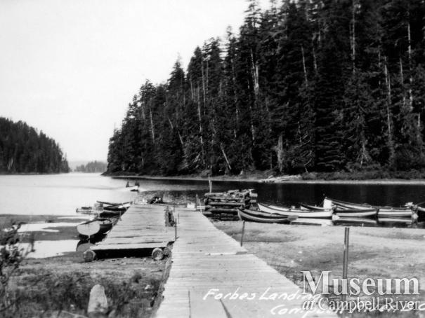 View of the dock at Forbes Landing Lodge