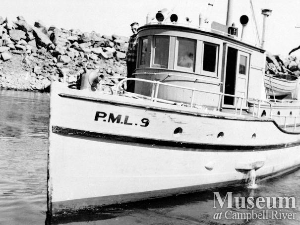 RCMP boat P.M.L. 9, Campbell River detachment