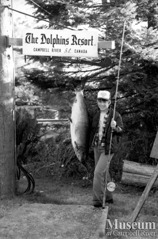Randy Killoran with his catch