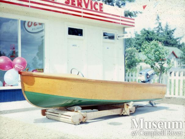 Walter Morgan's boat