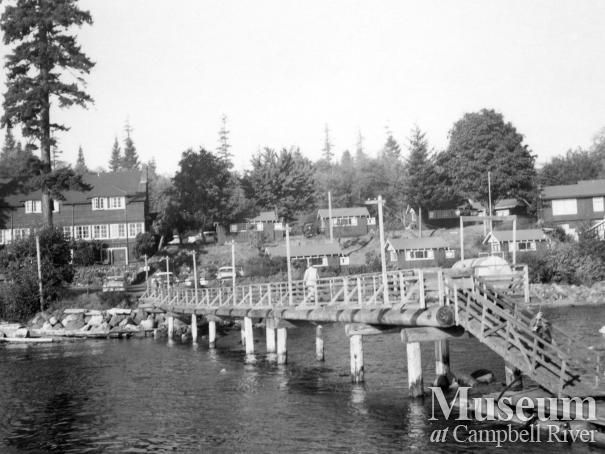 View of Painter's Lodge, Campbell River