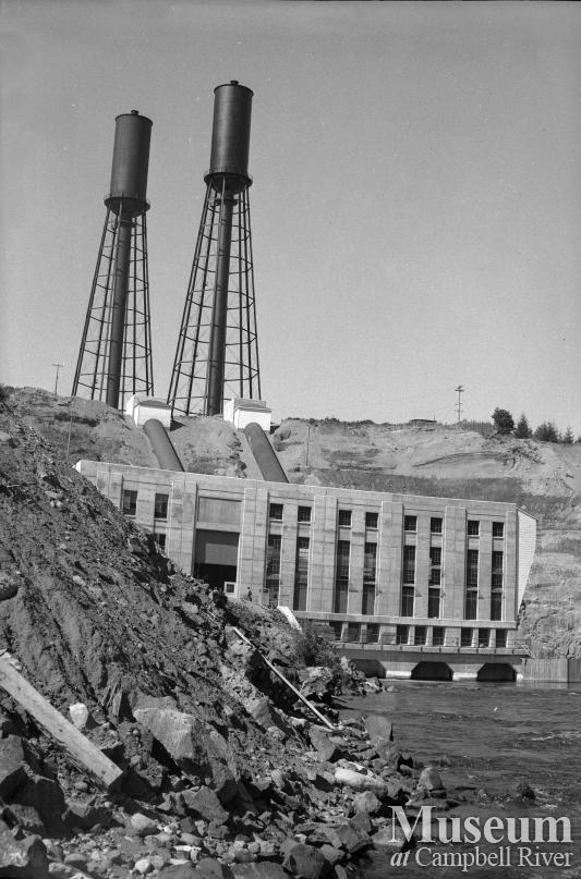 View of John Hart Generating Station