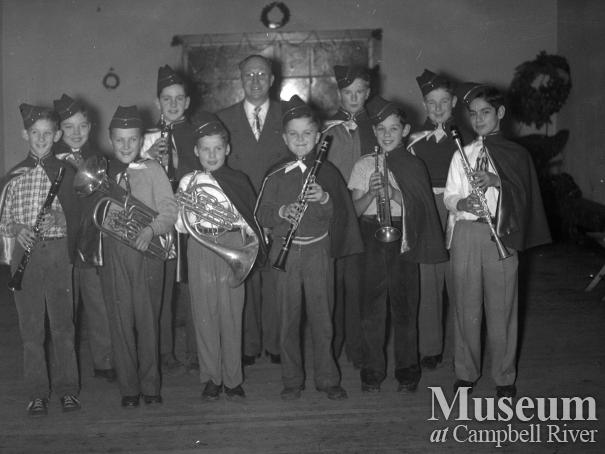Campbell River boys band